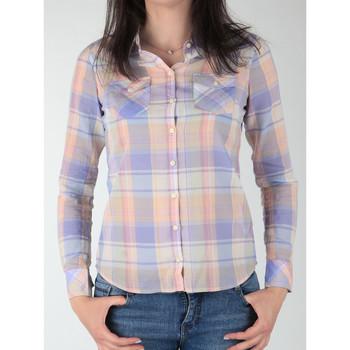 vaatteet Naiset Paitapusero / Kauluspaita Wrangler Western Shirt W5045BNSF Multicolor