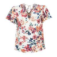 vaatteet Naiset Topit / Puserot Casual Attitude LAURIANA White / Multicolour