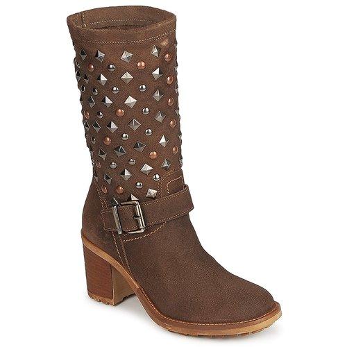 kengät Naiset Saappaat Meline DOTRE Brown