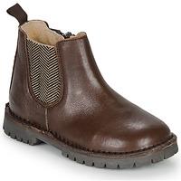 kengät Pojat Bootsit André XAVIER Ruskea