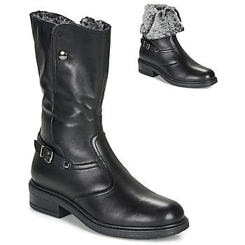 kengät Tytöt Saappaat André MOSCOU Black