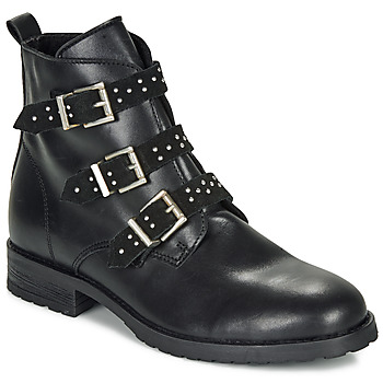 kengät Tytöt Bootsit André REGLISSA Musta