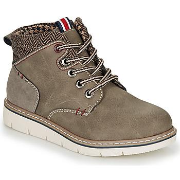 kengät Pojat Bootsit André GIL Kaki