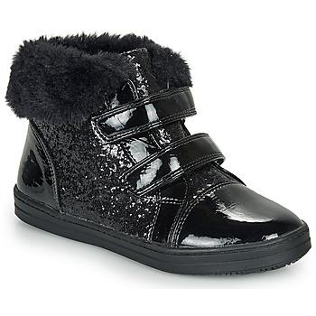 kengät Tytöt Bootsit André JUDITH Musta