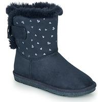 kengät Tytöt Bootsit André ZAPALA Laivastonsininen