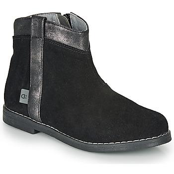kengät Tytöt Bootsit André NOLWENN Black