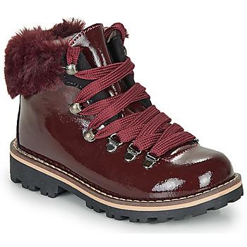 kengät Tytöt Bootsit André SANDY Bordeaux