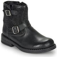 kengät Tytöt Bootsit André CYDRINE Black