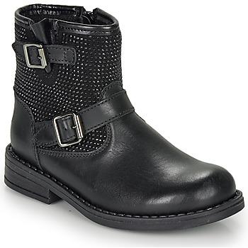 kengät Tytöt Bootsit André CYDRINE Musta