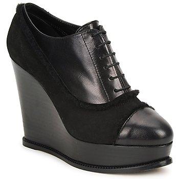 kengät Naiset Nilkkurit Moschino Cheap & CHIC CA1014 Black