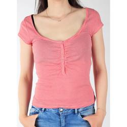 vaatteet Naiset Lyhythihainen t-paita Lee L428CGXX red, white
