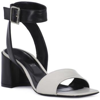 kengät Naiset Sandaalit ja avokkaat Priv Lab MILK SANDALO Bianco