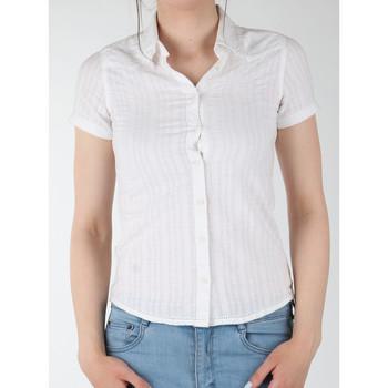 vaatteet Naiset Paitapusero / Kauluspaita Wrangler Sammy W5021CA12 white