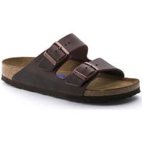 kengät Naiset Sandaalit Birkenstock Arizona sfb cuir gras Viininpunainen
