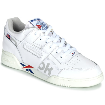 kengät Matalavartiset tennarit Reebok Classic WORKOUT PLUS MU White / Blue / Red