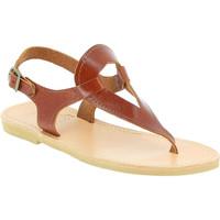 kengät Naiset Sandaalit ja avokkaat Attica Sandals ARTEMIS CALF DK-BROWN marrone
