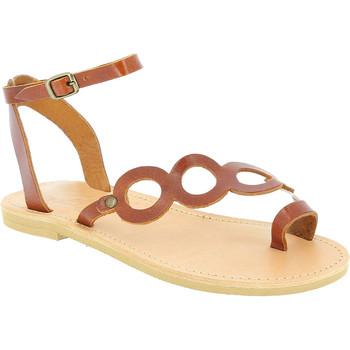 kengät Naiset Sandaalit ja avokkaat Attica Sandals APHRODITE CALF DK-BROWN marrone