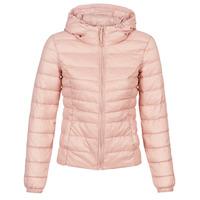 vaatteet Naiset Toppatakki Only ONLTAHOE Pink
