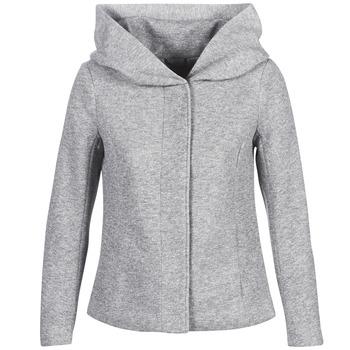 vaatteet Naiset Paksu takki Only ONLSEDONA Harmaa