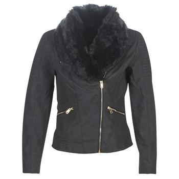 vaatteet Naiset Nahkatakit / Tekonahkatakit Only ONLCLASSY Black