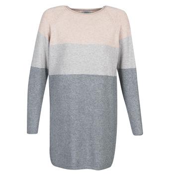 vaatteet Naiset Lyhyt mekko Only ONLLILLO Grey / Pink