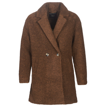 vaatteet Naiset Paksu takki Only ONLNINA Brown