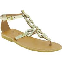 kengät Naiset Sandaalit ja avokkaat Attica Sandals GAIA CALF GOLD oro