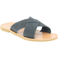 kengät Miehet Sandaalit Attica Sandals ORION NUBUCK BLACK nero