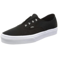 kengät Naiset Matalavartiset tennarit Vans Authentic Core Valkoiset, Mustat