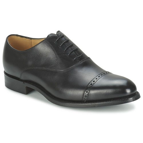 kengät Miehet Herrainkengät Barker BURFORD Black