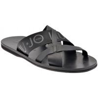 kengät Miehet Sandaalit Liu Jo  Musta