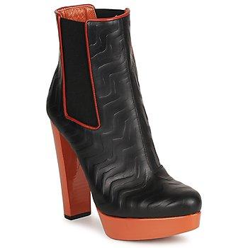 kengät Naiset Nilkkurit Missoni STAMP Black