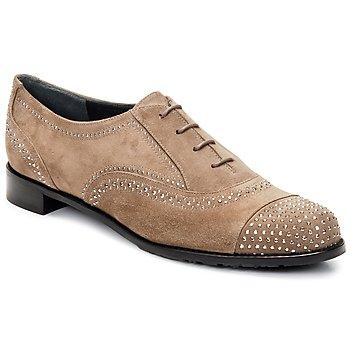 kengät Naiset Herrainkengät Stuart Weitzman DERBY BEIGE