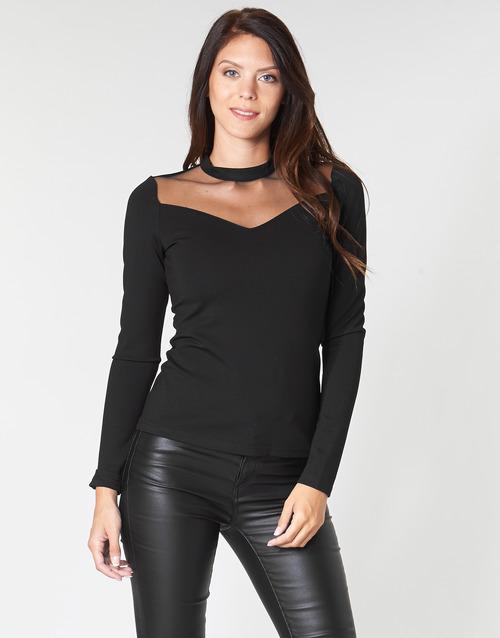 vaatteet Naiset Topit / Puserot Moony Mood LAMELI Black