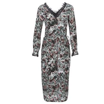 vaatteet Naiset Pitkä mekko Heimstone LAKE Black / Multicolour