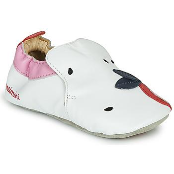 kengät Tytöt Tossut Catimini CIRINI White / Pink