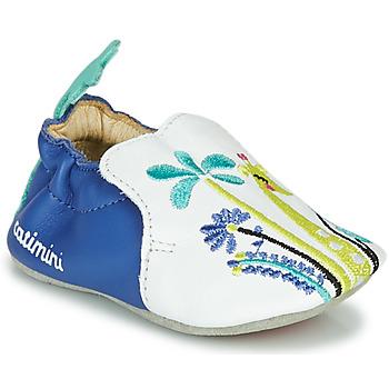 kengät Tytöt Tossut Catimini COLIMA Valkoinen / Sininen