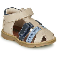 kengät Pojat Sandaalit ja avokkaat GBB DIMMI Beige / Sininen