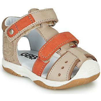 kengät Pojat Sandaalit ja avokkaat GBB EUZAK Beige / Orange