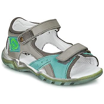 kengät Pojat Sandaalit ja avokkaat GBB EROPE Grey / Blue
