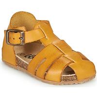 kengät Pojat Sandaalit ja avokkaat GBB FREDERICO Sinappi