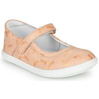 kengät Tytöt Balleriinat GBB PLACIDA Vaaleanpunainen