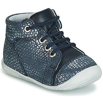 kengät Tytöt Korkeavartiset tennarit GBB OLSA Blue