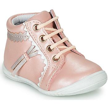 kengät Tytöt Korkeavartiset tennarit GBB ACINTA Pink