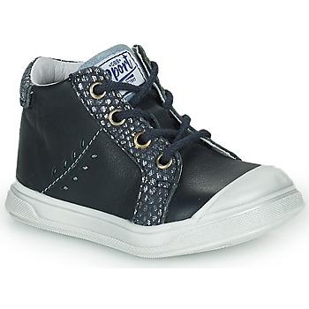 kengät Tytöt Korkeavartiset tennarit GBB AGAPE Blue