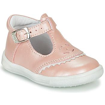 kengät Tytöt Balleriinat GBB AGENOR Vaaleanpunainen