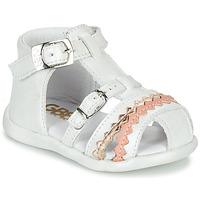 kengät Tytöt Sandaalit ja avokkaat GBB ALIDA White