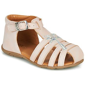 kengät Tytöt Sandaalit ja avokkaat GBB ANAYA Vaaleanpunainen