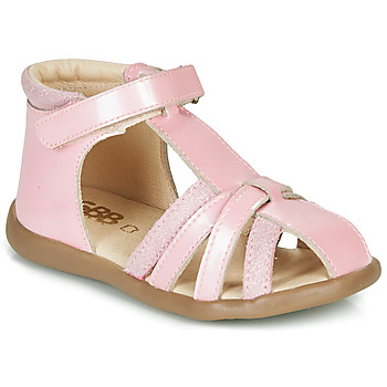 kengät Tytöt Sandaalit ja avokkaat GBB AGRIPINE Vaaleanpunainen