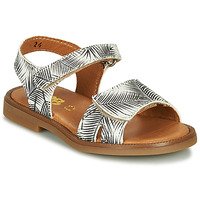 kengät Tytöt Sandaalit ja avokkaat GBB CAVOLA White / Black